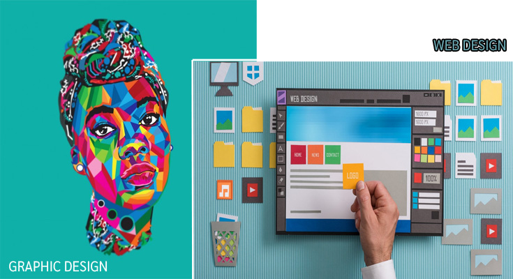 Key Differences Between Graphic Design and Web Design
